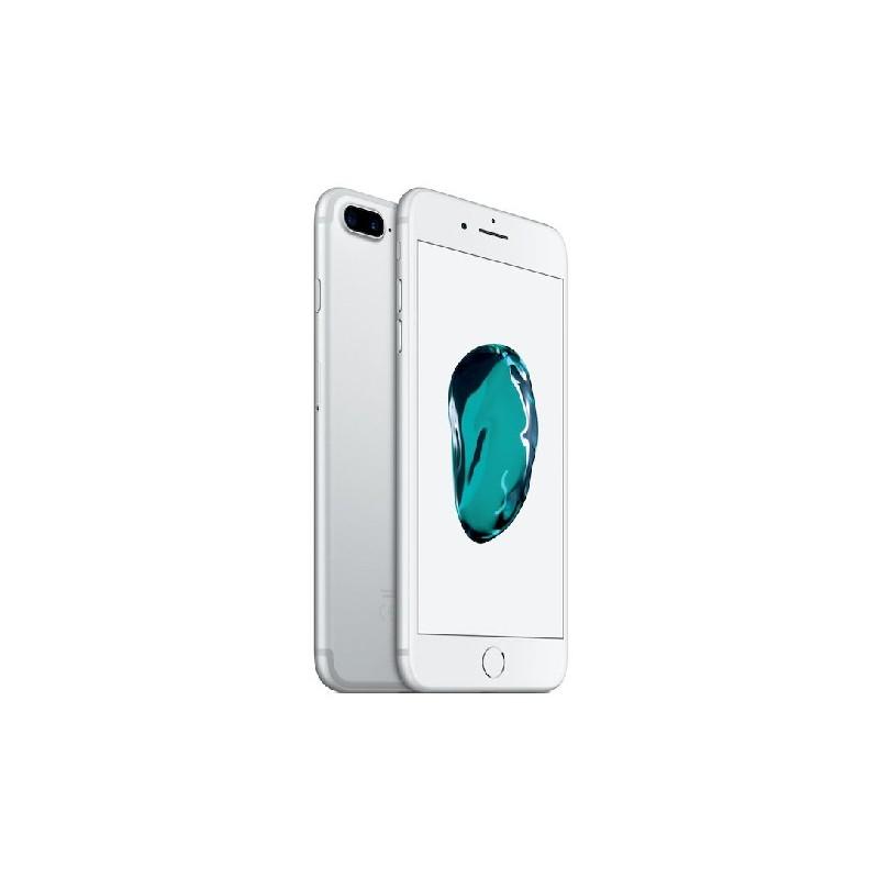 APPLE IPHONE 7 PLUS 128GB Silver Ricondizionato Grado A+ Con Scatola (EarPods Lightning)
