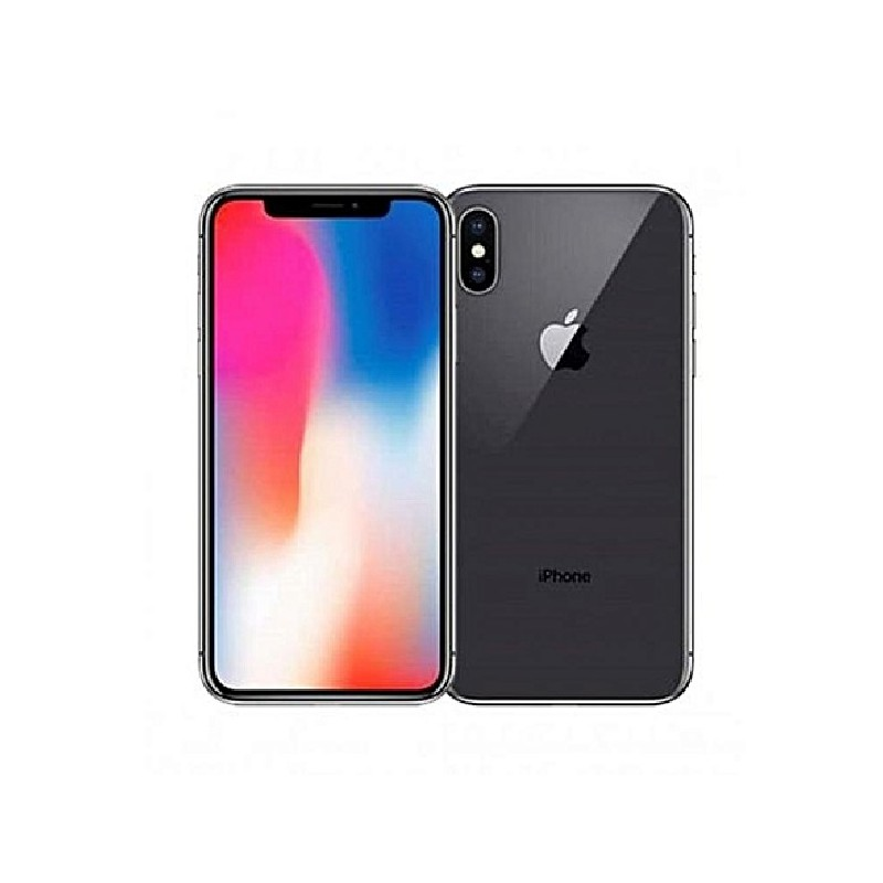 APPLE IPHONE X 64GB Gray Ricondizionato Classe A+ Con Scatola (EarPods Lightning)