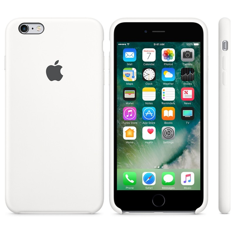 APPLE Cover in Silicone per iPhone 6s Bianco