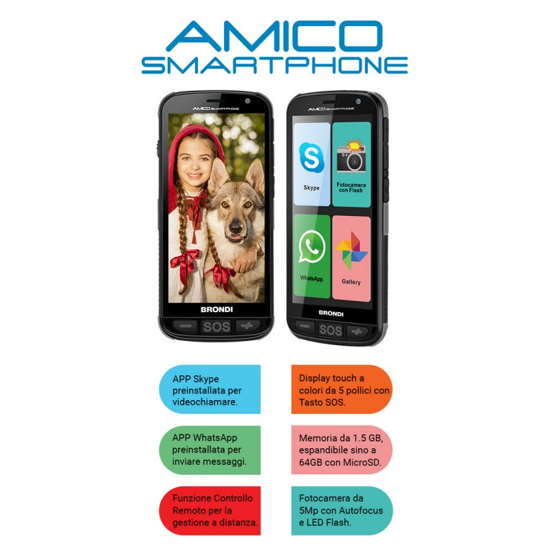 BRONDI AMICO SMARTPHONE PER...