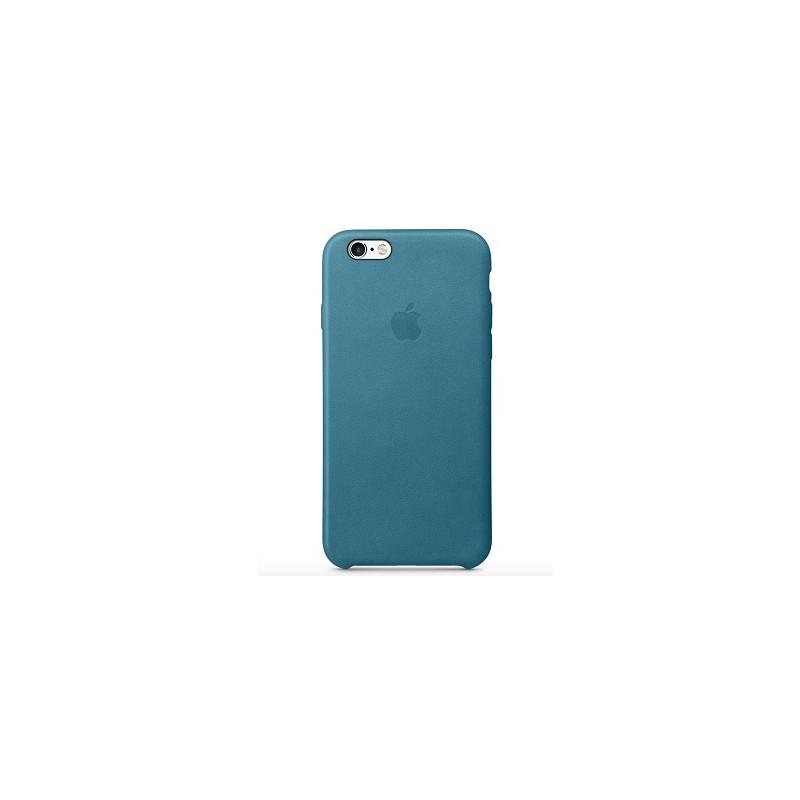 APPLE Cover in Silicone per iPhone 6s Blu Oceano