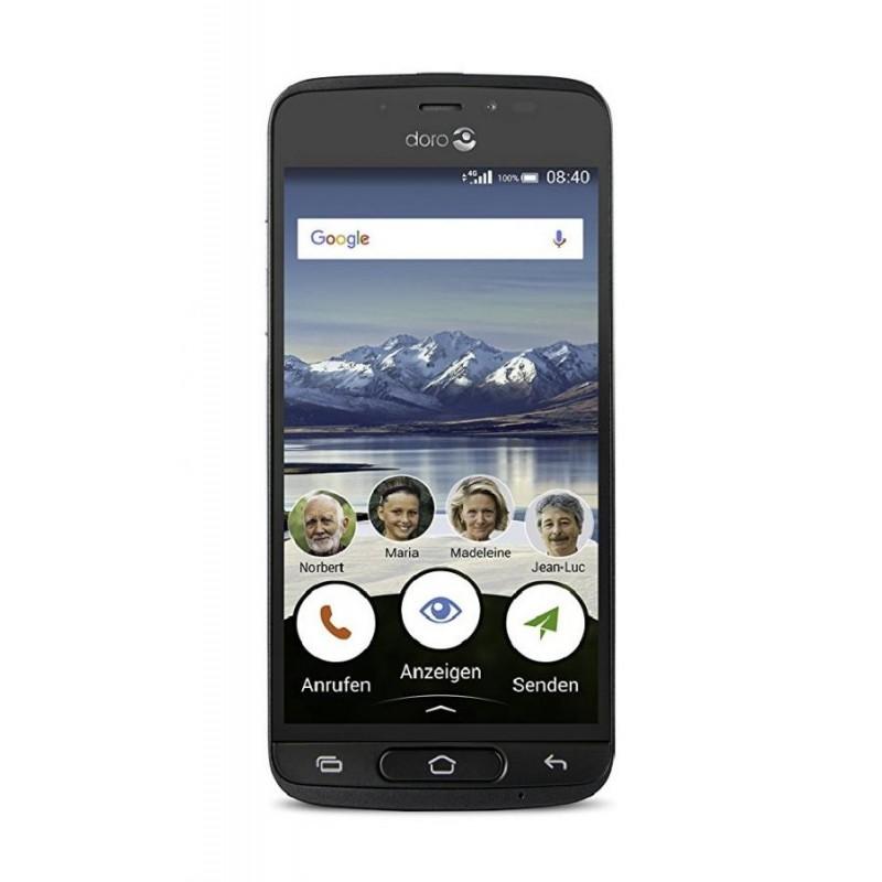 DORO 8040 5\'\' 4g Android 7.0 TIM Graphite
