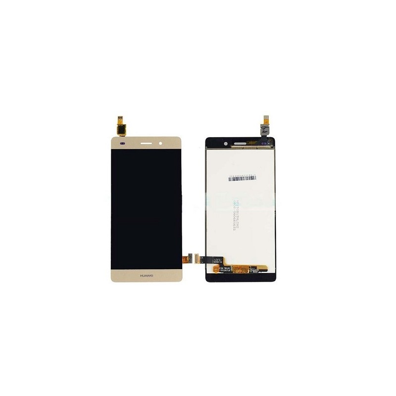HUAWEI DISPLAY P8 lite gold completo di touch+frame