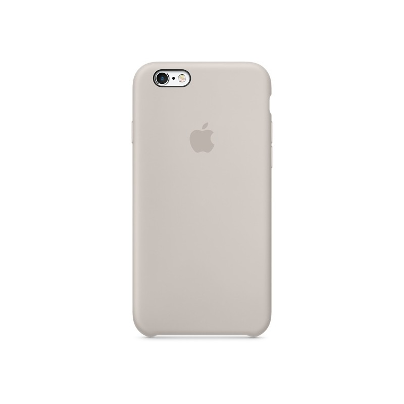 APPLE Cover in Silicone per iPhone 6s Plus Beige