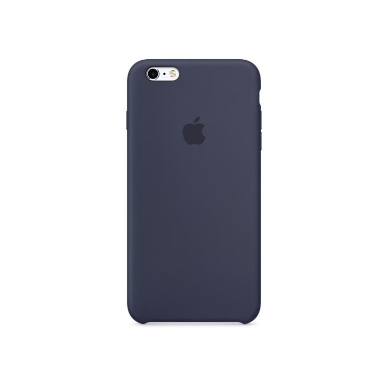 APPLE Cover in Silicone per iPhone 6s Plus Blu Notte