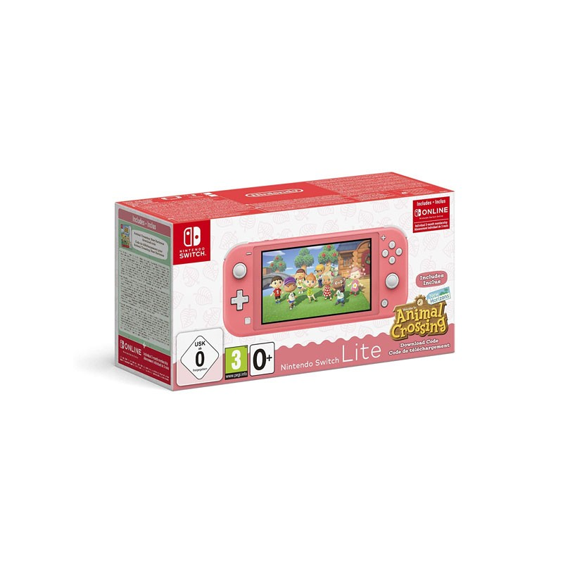 NINTENDO Switch Lite Coral...