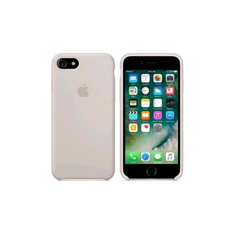 APPLE Cover in Silicone per iPhone 7 / iPhone 8  Beige