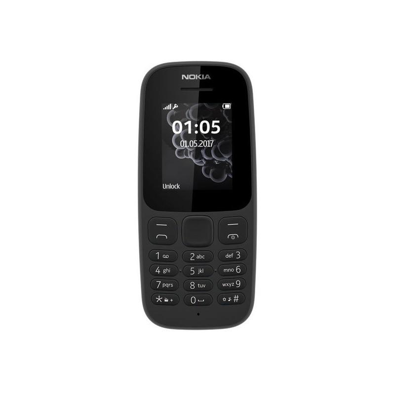 NOKIA 105 2017 IT Black DualSim