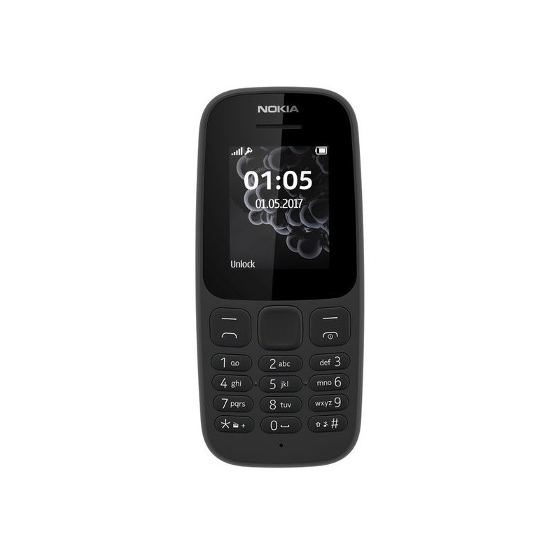 NOKIA 105 2017 IT Black DualSim