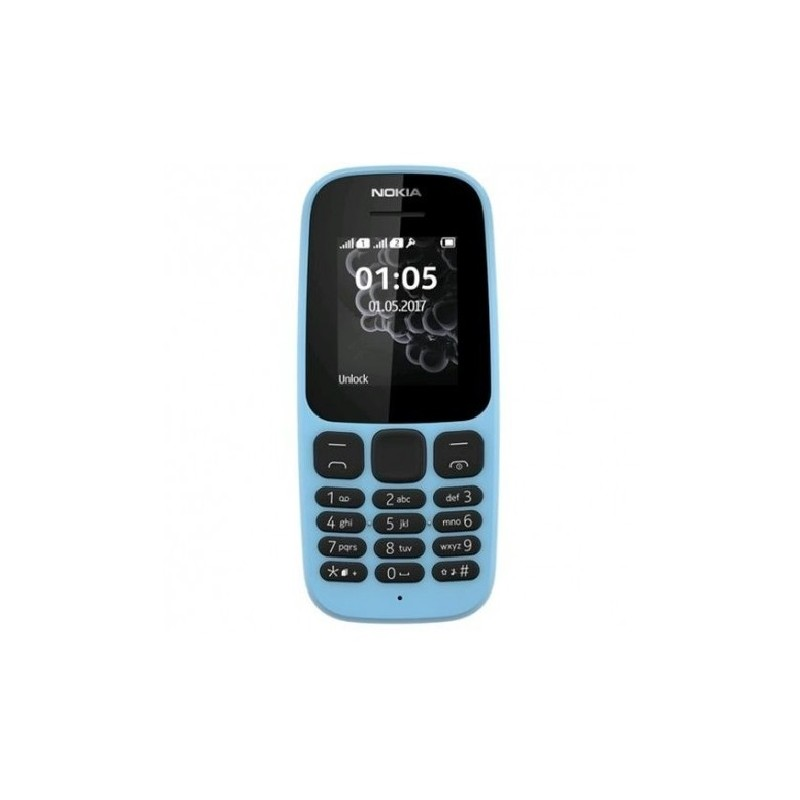 NOKIA 105 2017 IT Blue DualSim