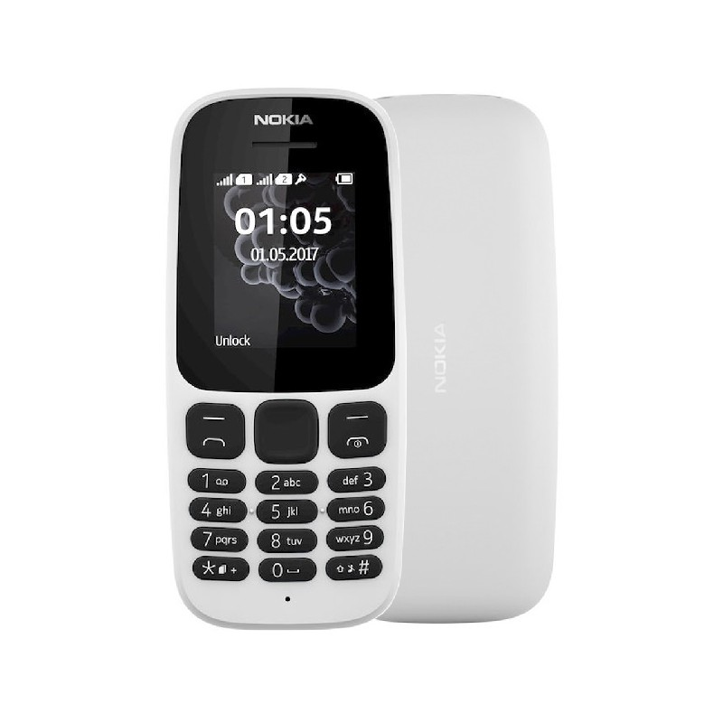 NOKIA 105 2017 IT White DualSim