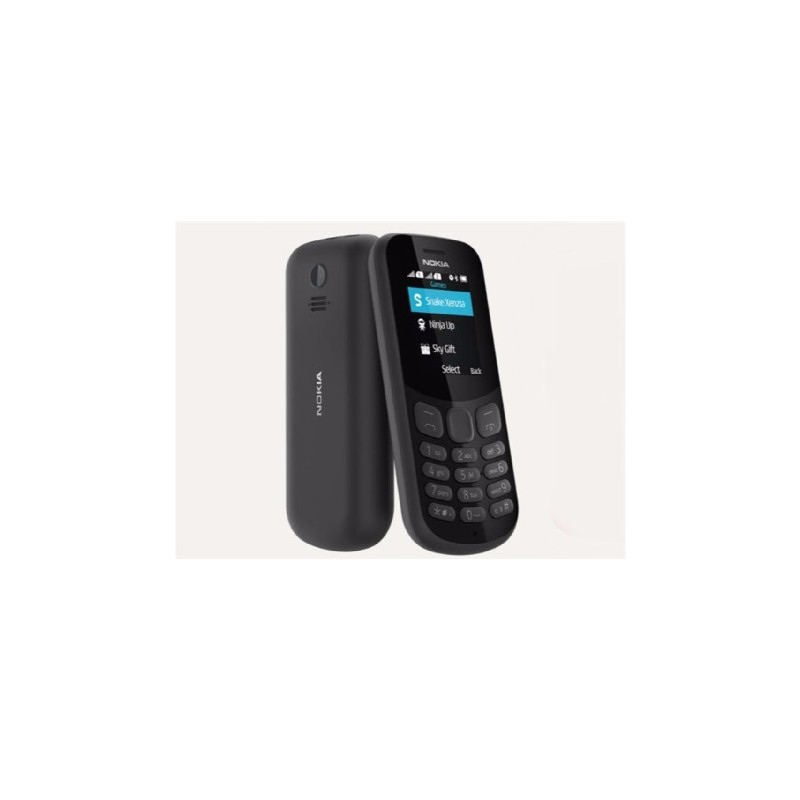 NOKIA 130 2017 IT Black DualSim Con fotocamera