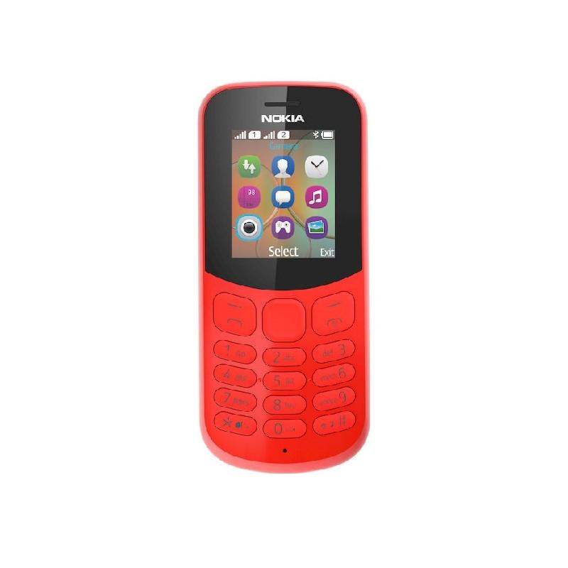 NOKIA 130 2017 IT Red DualSim Con fotocamera