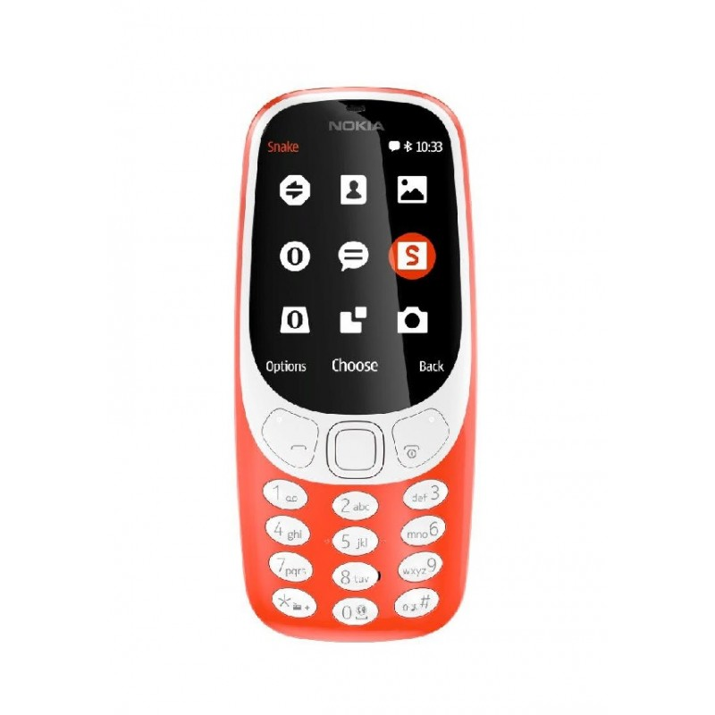 NOKIA 3310 IT Warm Red 3G DualSim