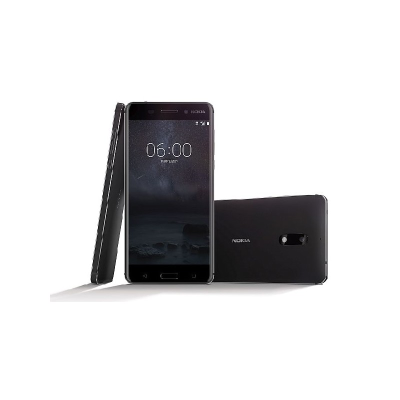 NOKIA 6 DualSim IT Black, Lcd 5,5 32GB, 3GB
