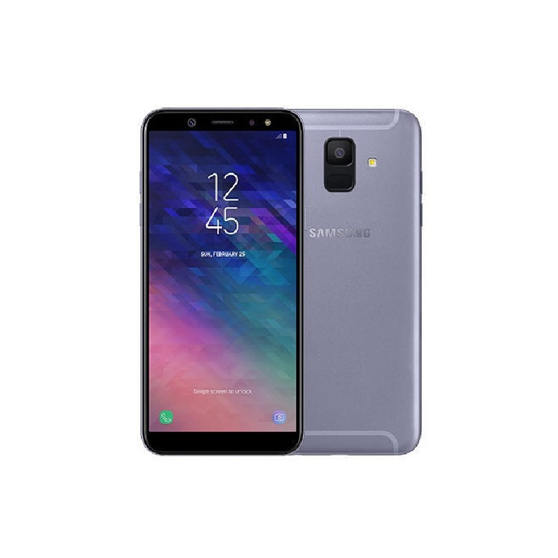 SAMSUNG A6 2018 TIM 5.6 Android 8.0 Orchid Grey
