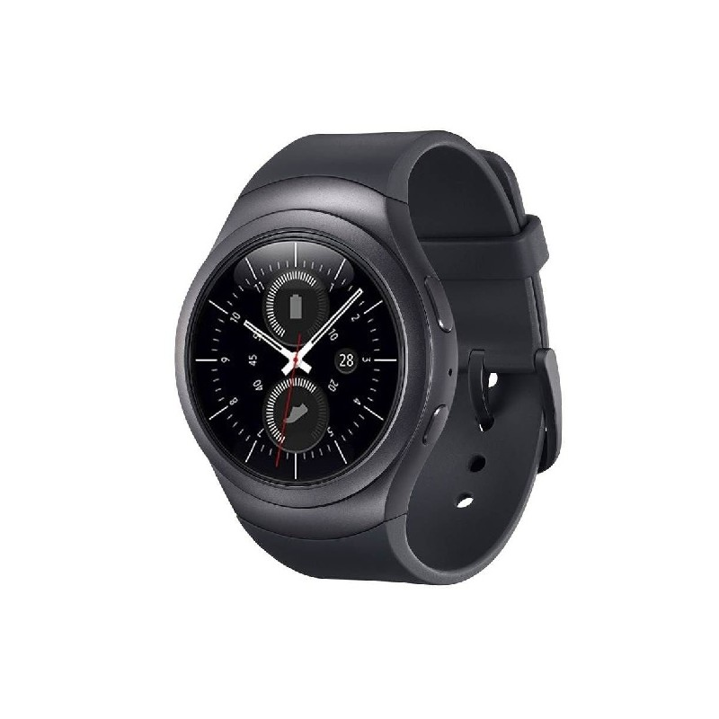 SAMSUNG WATCH GEAR S2 R7200 1.2 Pollici Black Italia