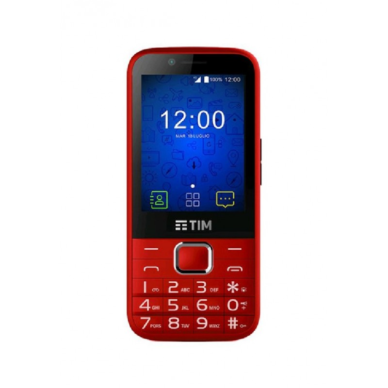 TIM ZTE EASY TOUCH 4G 2.8\'\' 4GB TIM RED