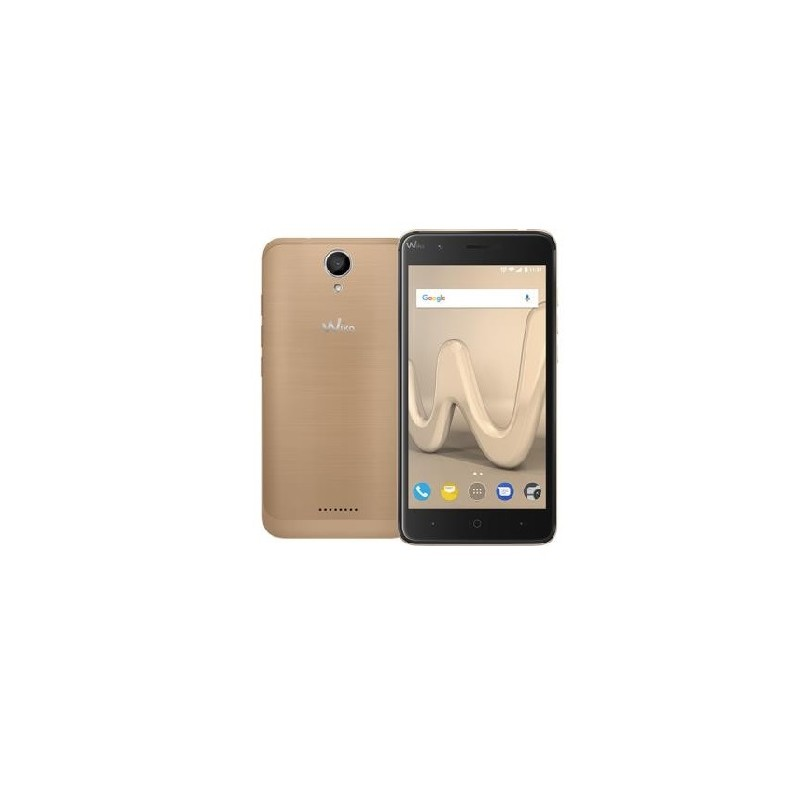 WIKO HARRY 5\'\'4G HD 13MP RAM 3GB Android 7.0 ITALIA DualSim Gold