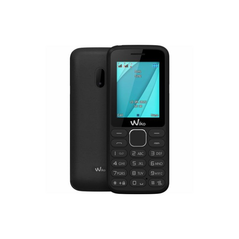 WIKO LUBI 4 Black IT DualSim Fotocamera Web Radio Mp3 Led