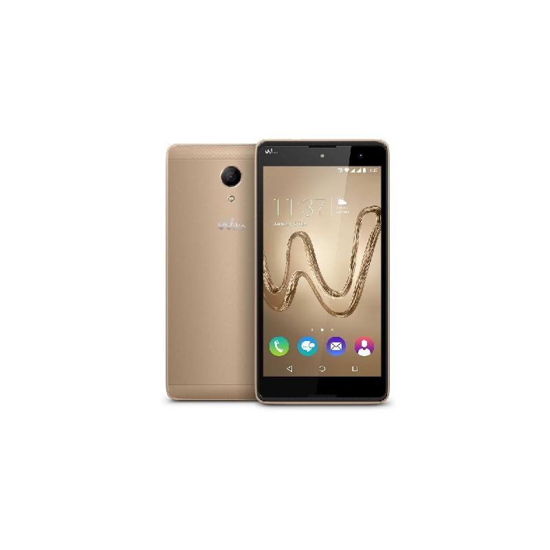 WIKO ROBBY ITALIA 3G Gold Display 5.5 DualSim HD 8GB int. e 64gb esp. Fotocamera 8Mpx GPS Blt 6.0