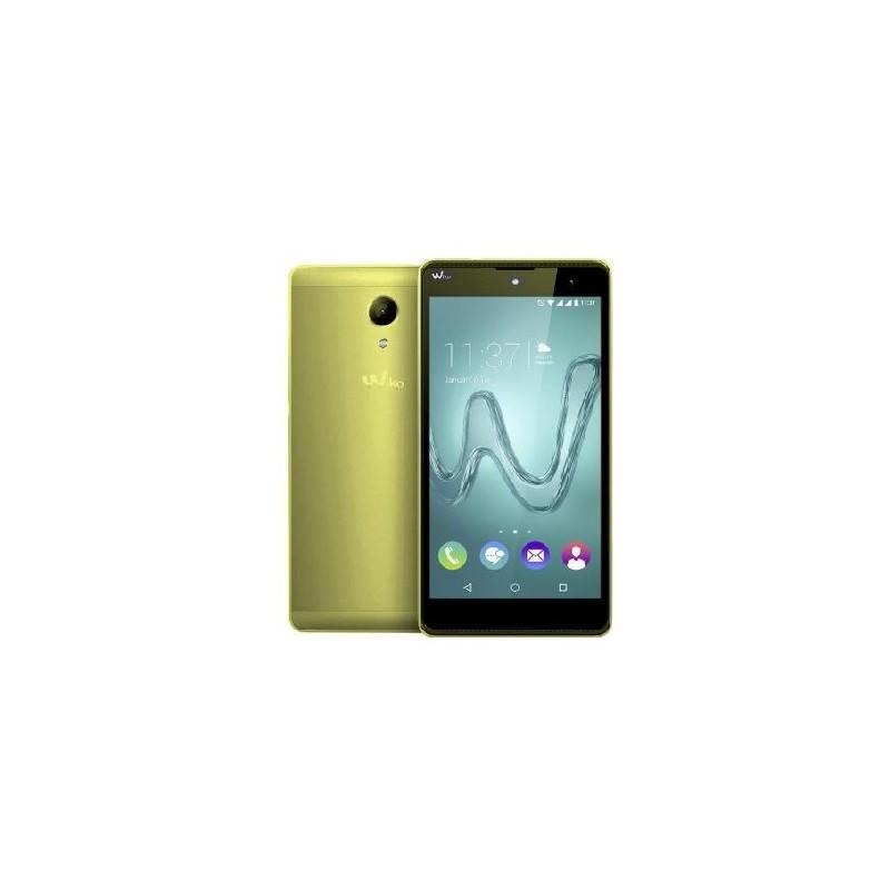 WIKO ROBBY ITALIA 3G LIME Display 5.5 DualSim HD 8GB int. e 64gb esp. Fotocamera 8Mpx GPS Blt 6.0
