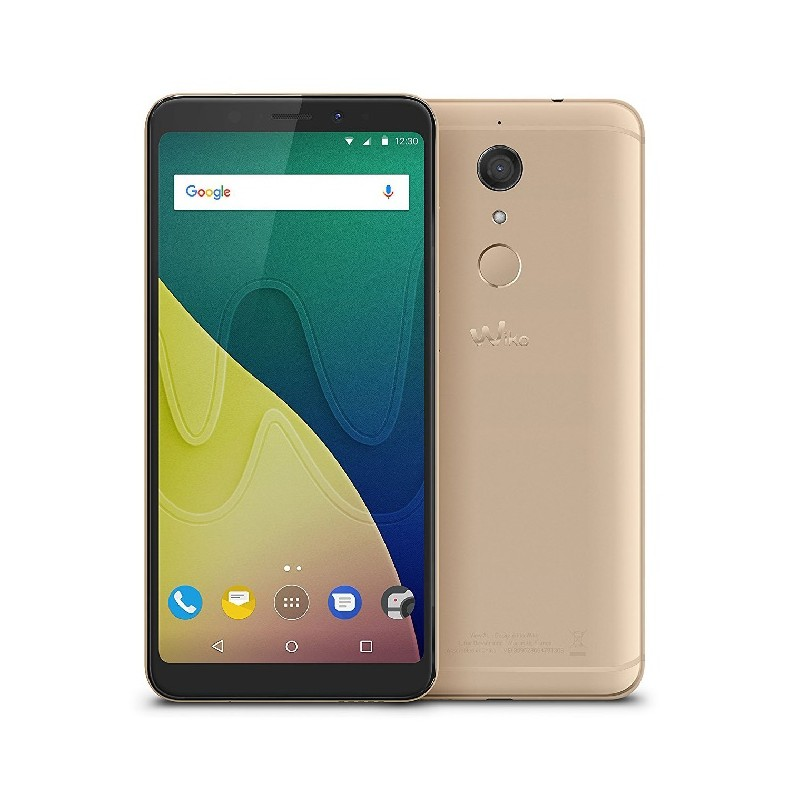 WIKO VIEW XL 6\'\' HD 13MP RAM 4GB Android 7.1 ITALIA DualSim Gold