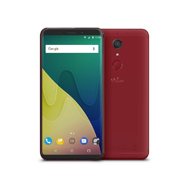 WIKO VIEW XL 6\'\' HD 13MP RAM 4GB Android 7.1 ITALIA DualSim Red