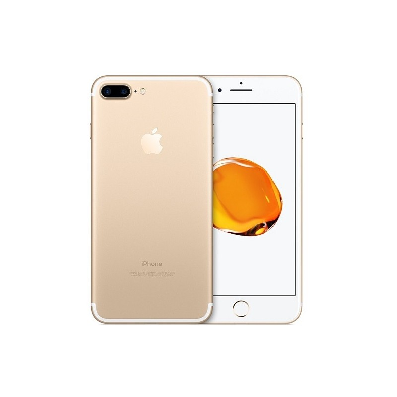 APPLE IPHONE 7 PLUS 32GB Gold Ricondizionato Grado A+ Con Scatola (Cuffie Jack 3,5)