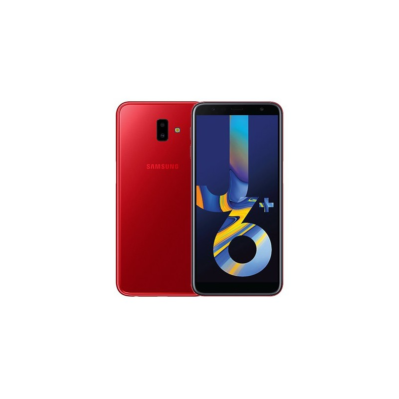 SAMSUNG J6+ TIM 4G DualSim Red