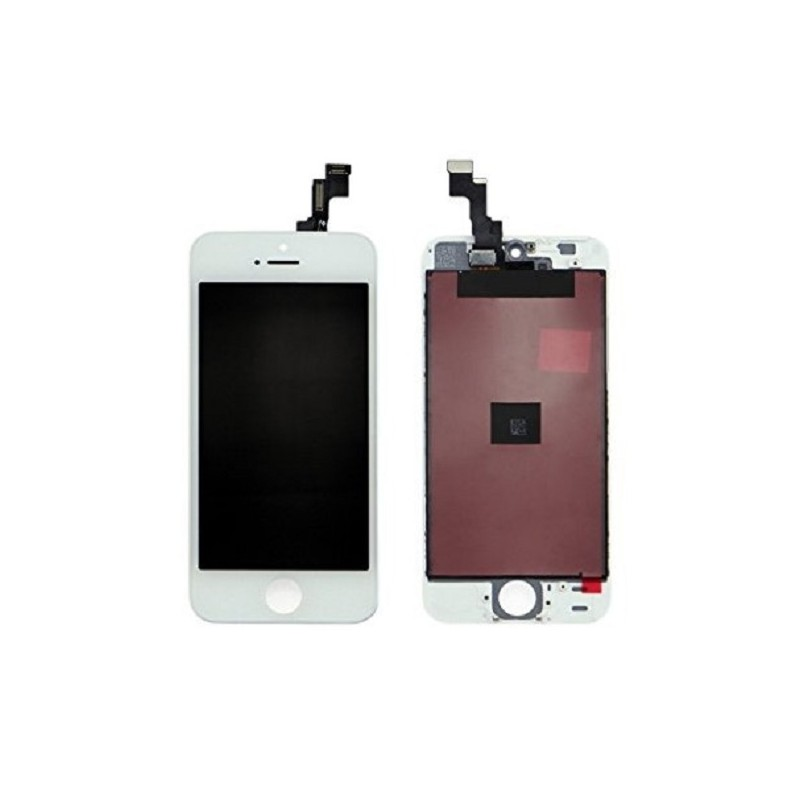 APPLE DISPLAY IPHONE 5 white con touch+frame