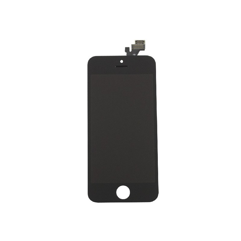 APPLE DISPLAY IPHONE 5C Black con touch+frame