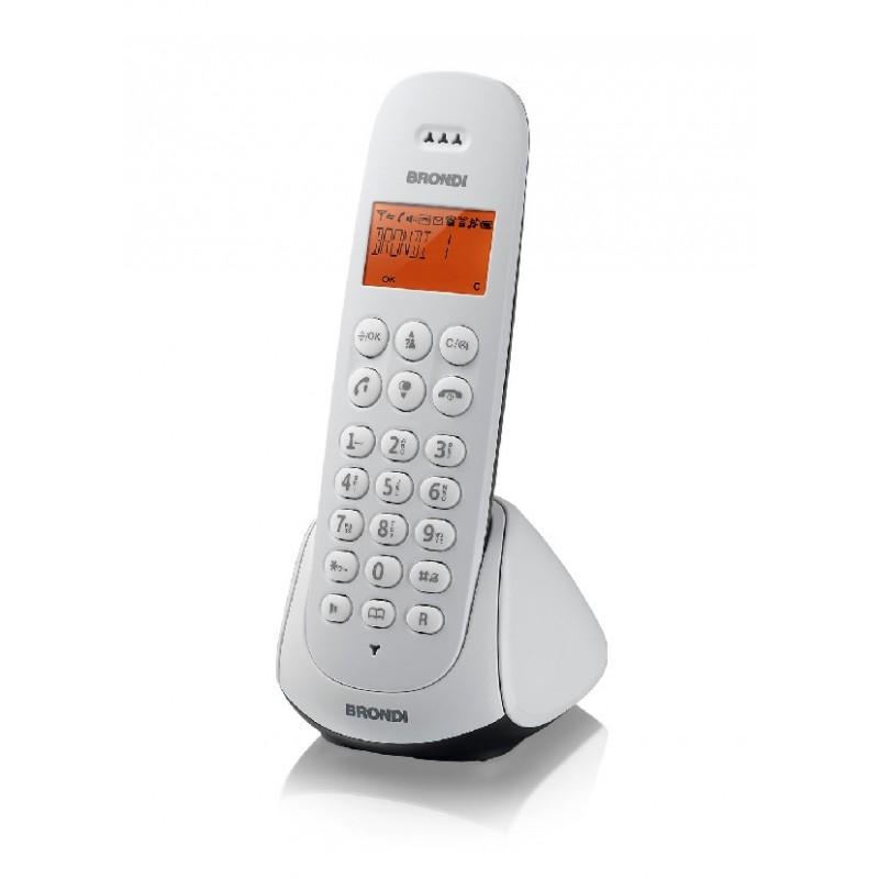 BRONDI ADARA NERO/BIANCO TELEFONO CORDLESS